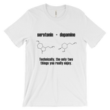 Serotonin and Dopamine Men's T-Shirt