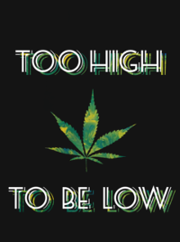 Too High To Be Low Men's T-Shirt