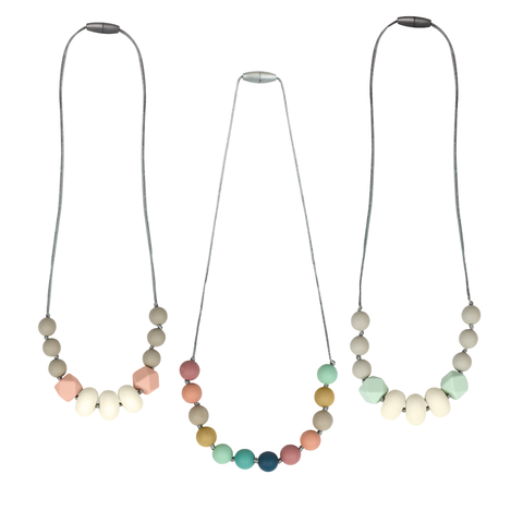 Itzy Ritzy Teething Happens Teething Necklace