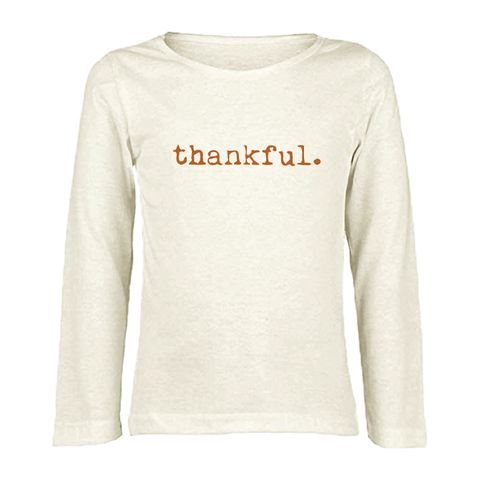 Tenth and Pine Long Sleeve Tee-  Thankful