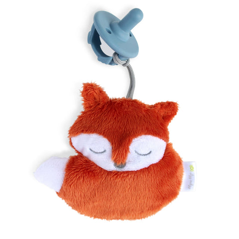 Itzy Ritzy Sweetie Pal Pacifier and Stuffed Animal- Fox
