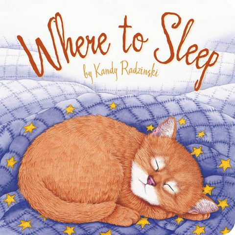 Where to Sleep Toddler Board Book