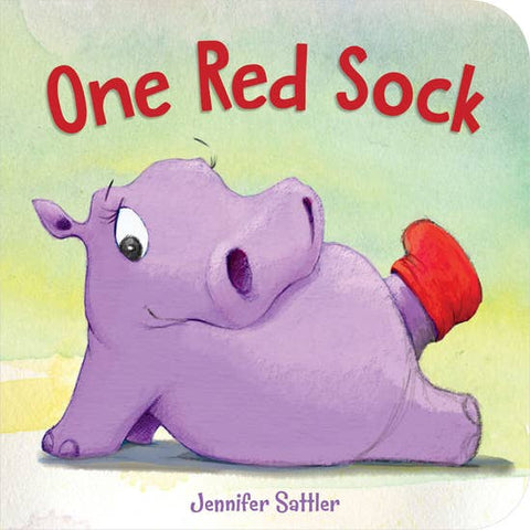 One Red Sock Toddler Board Book
