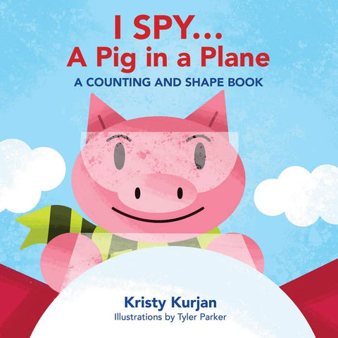 I Spy.. A Pig In A Plane Hard Cover Book
