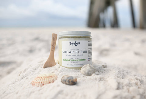Fizz Bizz Sugar Scrub- Eucalyptus and Spearmint