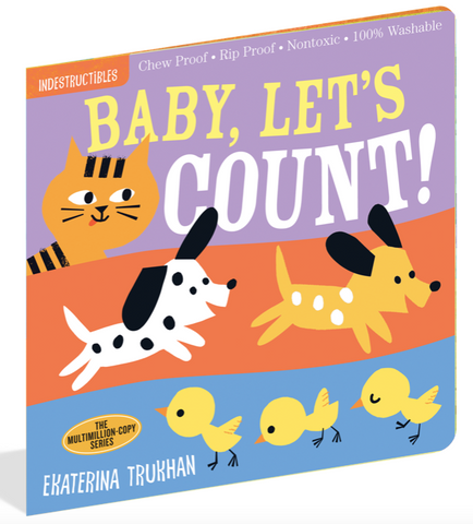Indestructible Book - Baby, Let's Count