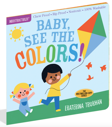 Indestructible Book - Baby,  See The Colors