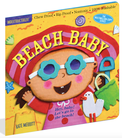 Indestructible Book - Beach Baby