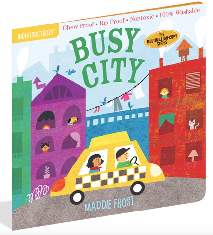Indestructible Book - Busy City