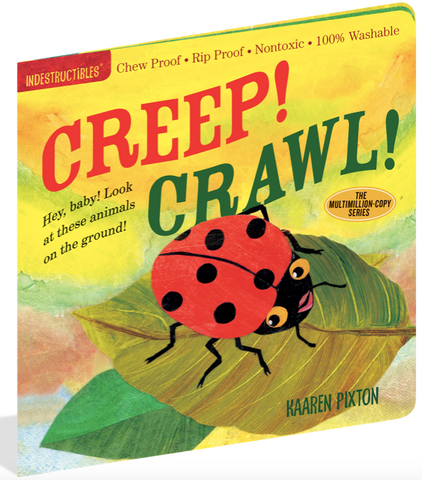 Indestructible Book - Creep! Crawl!