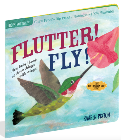 Indestructible Book - Flutter! Fly!