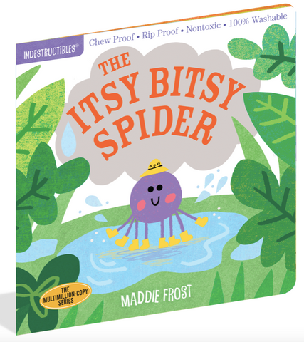 Indestructible Book - Itsy Bitsy Spider