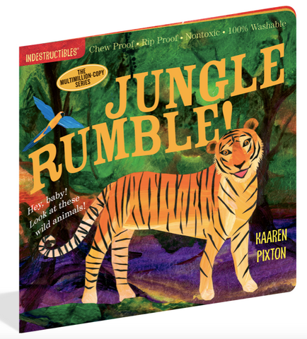 Indestructible Book - Jungle Rumble