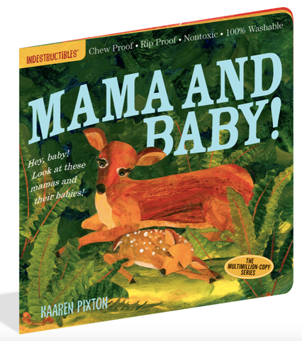 Indestructible Book - Mama And Baby