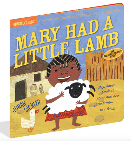 Indestructible Book - Mary Had A Little Lamb