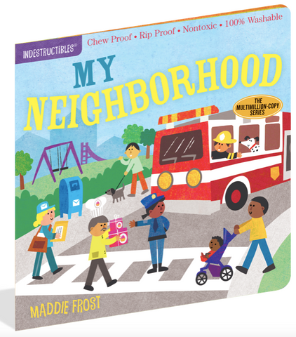 Indestructible Book - My Neighborhood