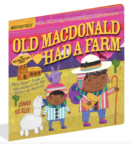 Indestructible Book - Old Macdonald Had a Farm