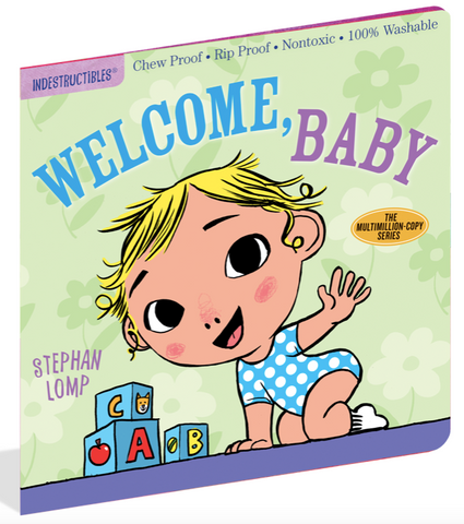 Indestructible Book - Welcome Baby