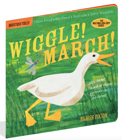 Indestructible Book - Wiggle! March!