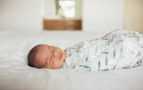 Copper Pearl Knit Swaddle Blanket- Alta