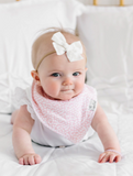 Copper Pearl Single Bandana Bib - Leilani