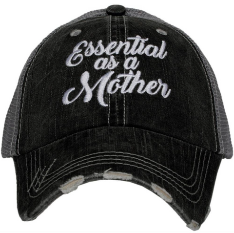 Women's Trucker Hat - Essential As A Mother