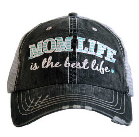 Women's Trucker Hat - Mom Life Is The Best Life