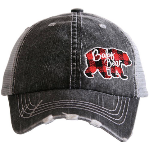 Kid's Trucker Hat - Baby Bear