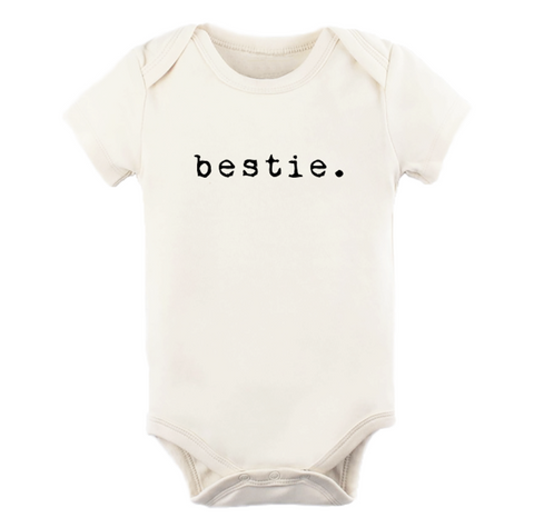 Tenth and Pine Short Sleeve Bodysuit-  Bestie