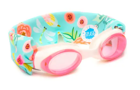 Splash Swim Goggles- Blossom