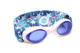 Splash Swim Goggles- Merica'
