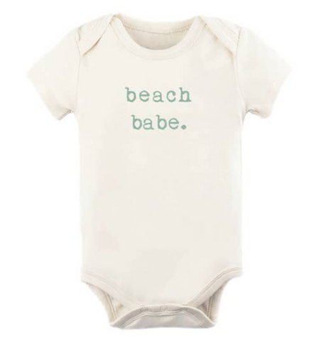 Tenth and Pine Short Sleeve Bodysuit-  Beach Babe
