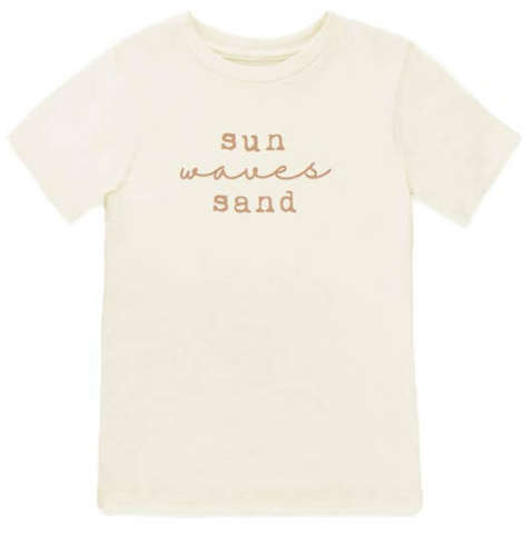 Tenth and Pine Short Sleeve Tee -  Sun Sand and Waves