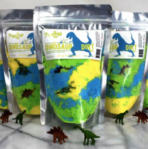 Fizz Bizz Kids Bath Salts- Dinosaur Dirt