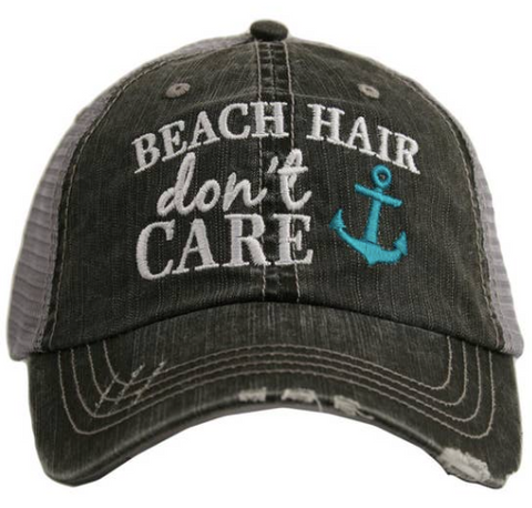 Women's Trucker Hat - Beach Hair Don't Care