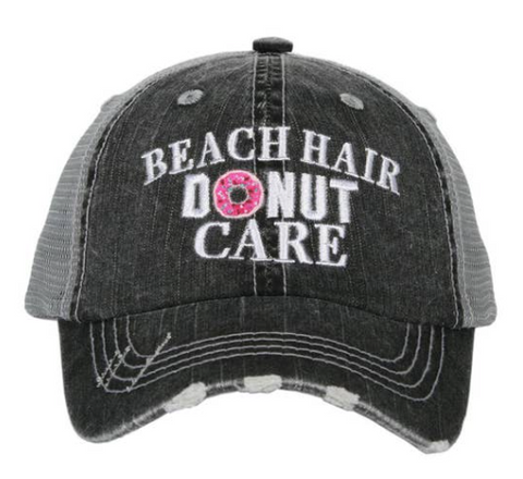 Kid's Trucker Hat - Beach Hair Donut Care