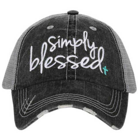Women's Trucker Hat - Simply Blessed