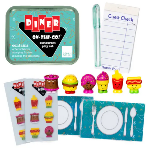 Diner On-The-Go Travel Playset