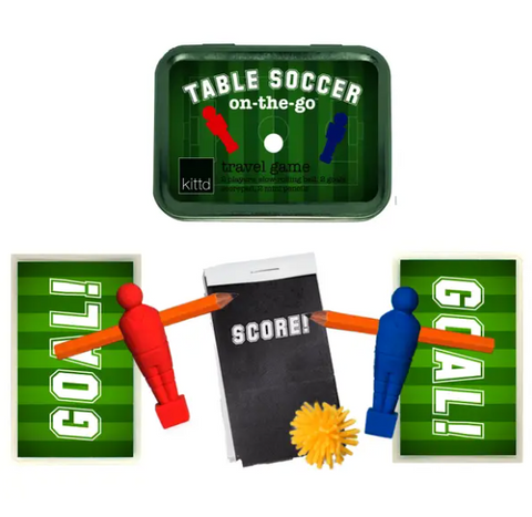 Table Soccer On-The-Go Travel Playset