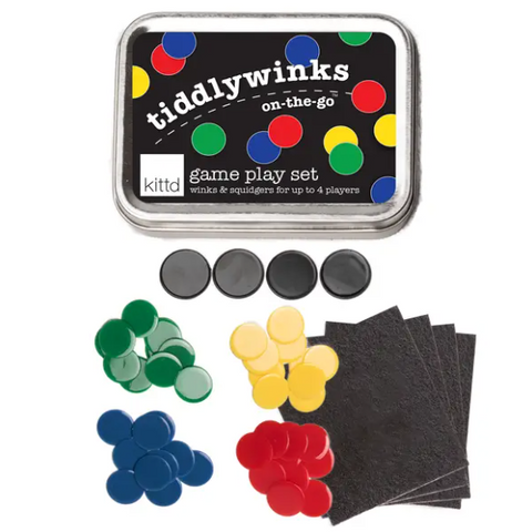 Tiddlywinks On-The-Go Travel Play Set