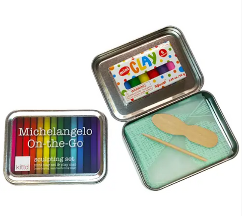 Michelangelo On-The-Go Travel Play Set