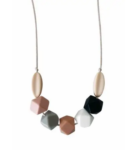 Chewable Charm Teething Necklace- Audrey