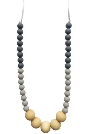 Chewable Charm Teething Necklace- Danny