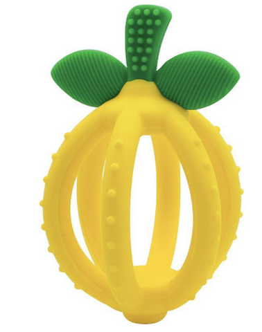 Itzy Ritzy Bitzy Biter Teething Ball- Lemon