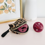 Itzy Ritzy Leopard Everything Pouch