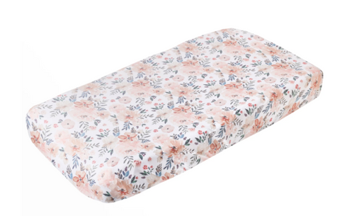 Copper Pearl Premium Knit Diaper Changing Pad Cover- Autumn