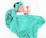 Copper Pearl Knit Swaddle Blanket- Spout