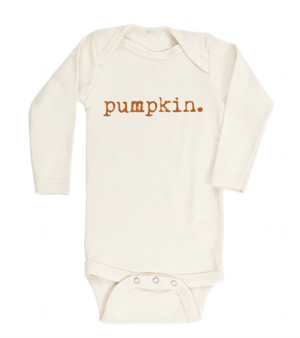Tenth and Pine Long Sleeve Bodysuit-  Pumpkin