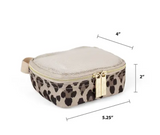 Itzy Ritzy Leopard Travel Diaper Bag Packing Cubes