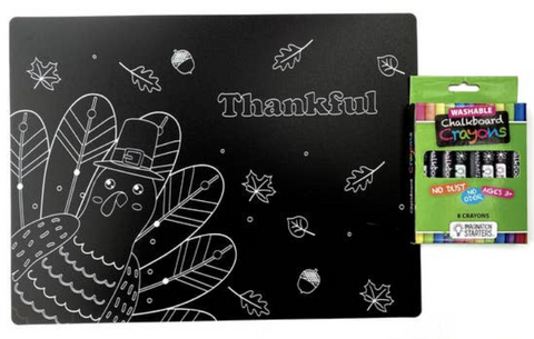 Chalkboard Small Gobble Placemat
